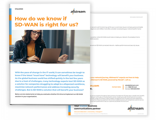 How do we know if SD-WAN is right for us - Checklist cover